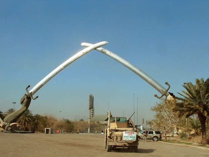 Bagdad - Manos de la Victoria