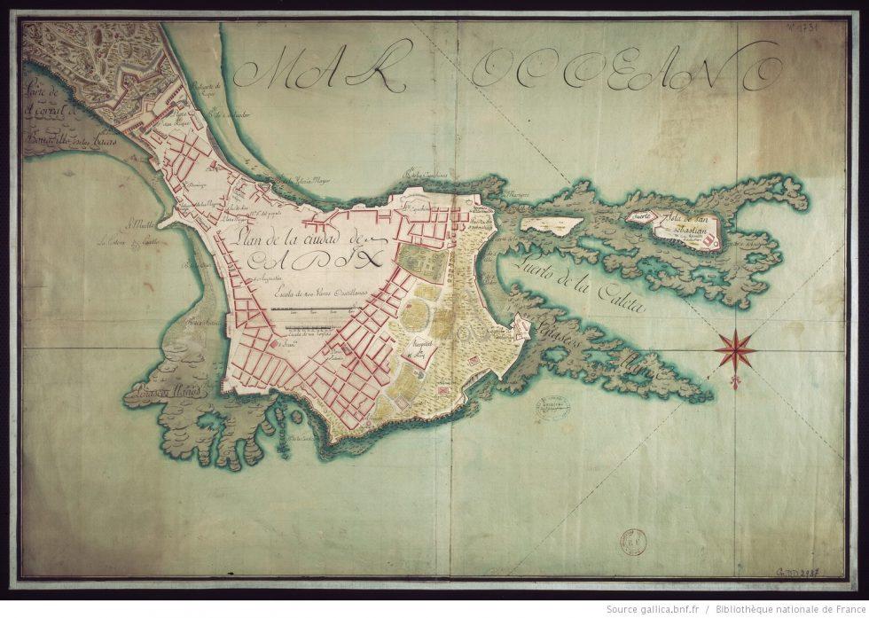 Cádiz - Mapa