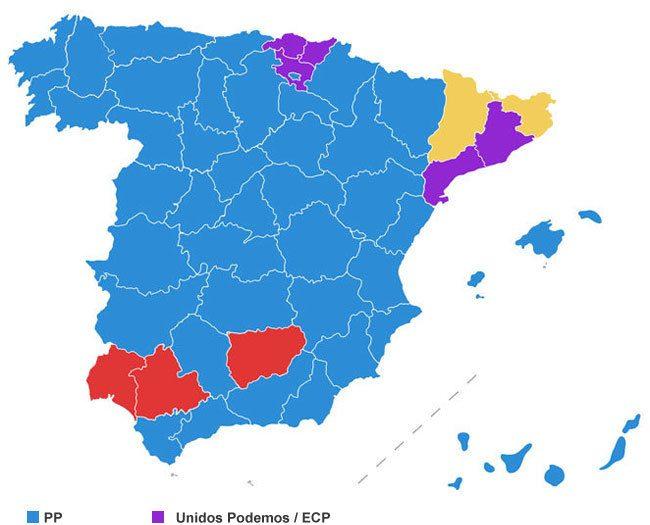 Mapa - Elecciones 2016