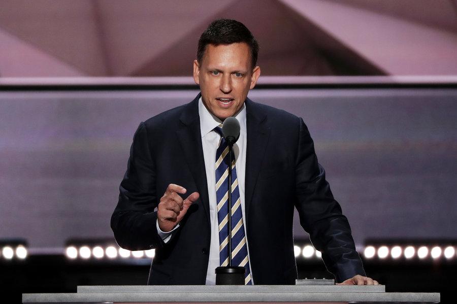Peter Thiel en la GOP Convention