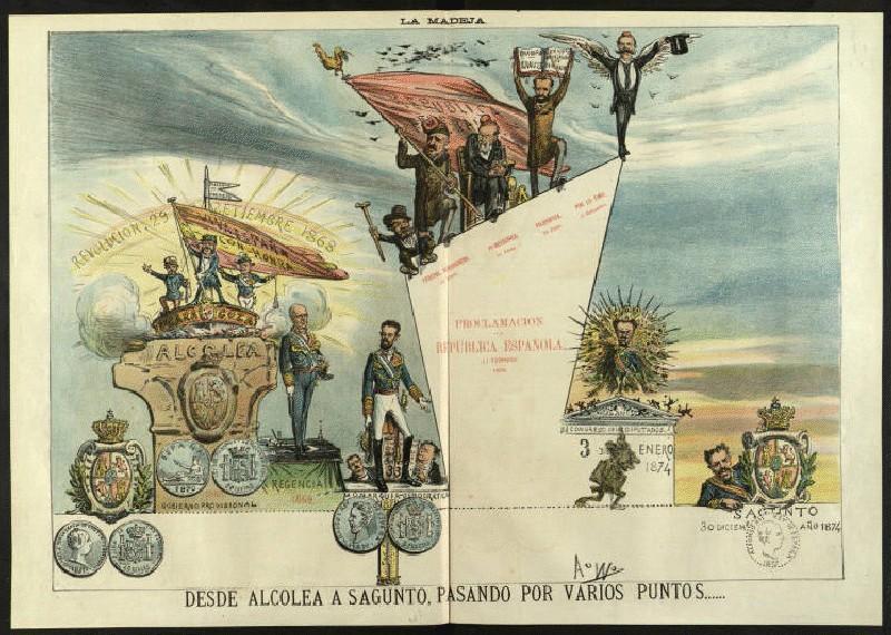 Revolución 1868 - Etapas del Sexenio - La Flaca 1874