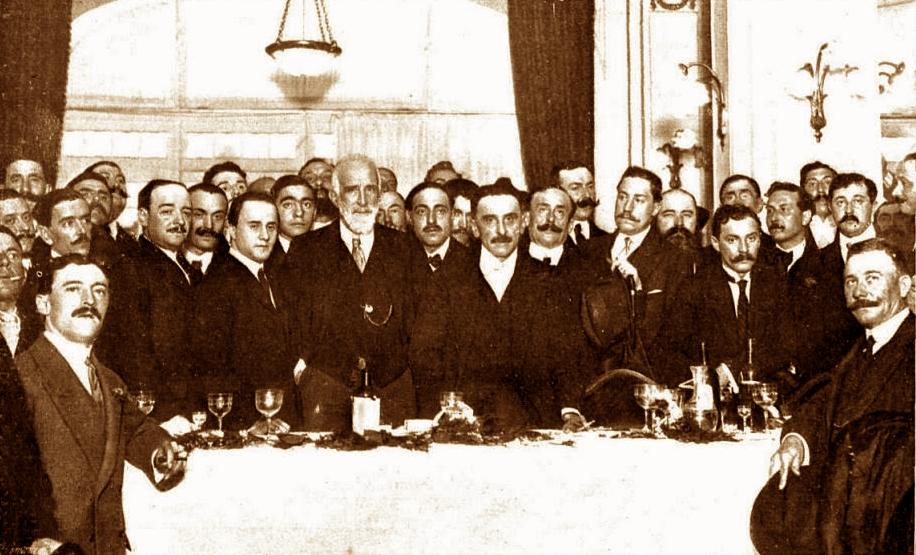 Partido Reformista - Banquete de fundación, 1912