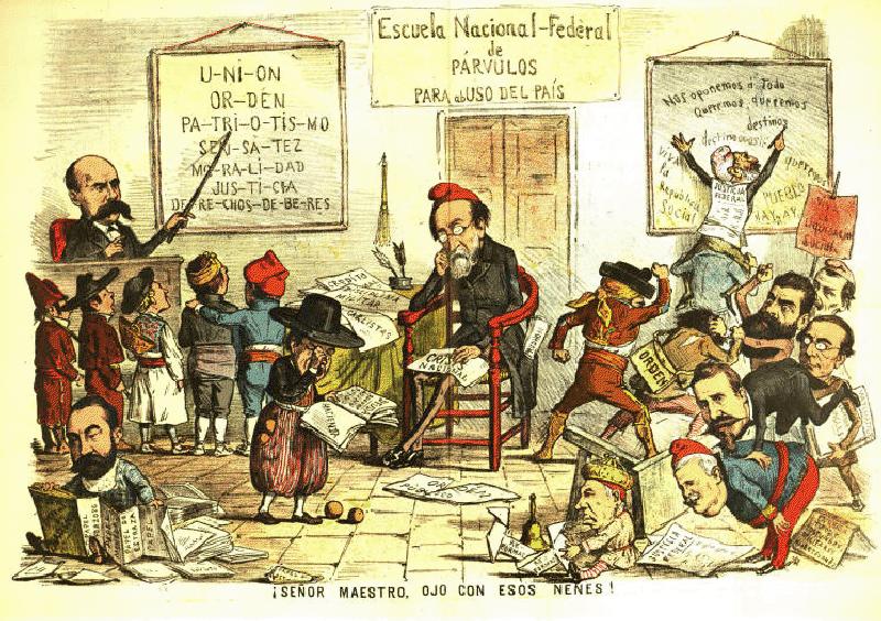 República federal - Caricatura