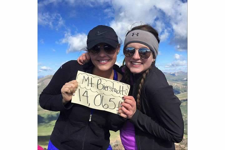 Cumbre de Mt. Bierstad