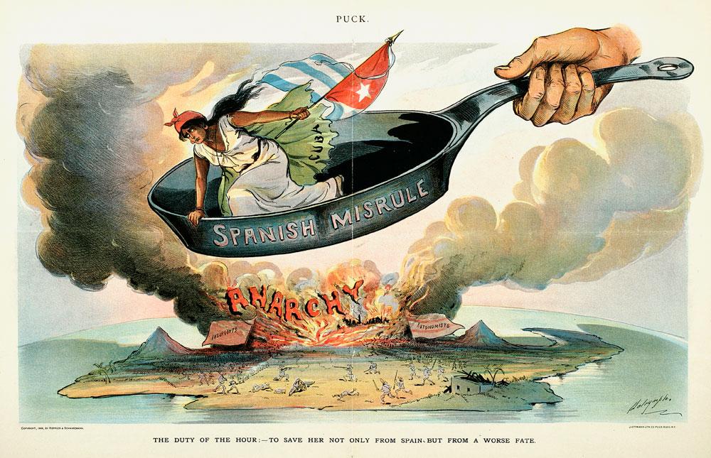 Guerra de Cuba - Viñeta