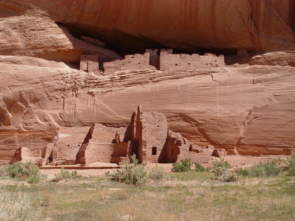 Ruinas de un poblado navajo, Nuevo México