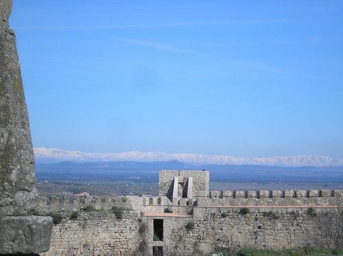 Sierra de Gredos vista desde Trujillo